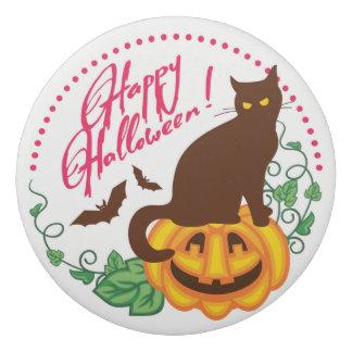 ハロウィン猫 消しゴム