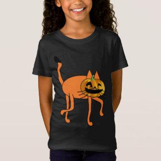 ハロウィン猫 Tシャツ