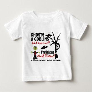 ハロウィン1人の心臓病の戦士 ベビーTシャツ
