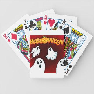ハロウィン994幽霊 バイスクルトランプ