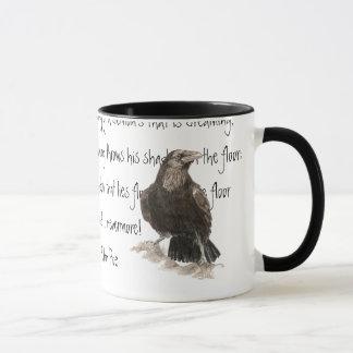 ハロウィン、エドガーアレンPoeのワタリガラス、Nevermore マグカップ