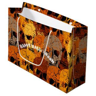 ハロウィン ラージペーパーバッグ