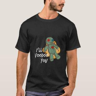 ハロウィン-私はヴードゥー教の呪いをかけます! Tシャツ