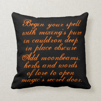 ハロウィン、装飾者、枕、オリジナル、詩歌、文字 クッション