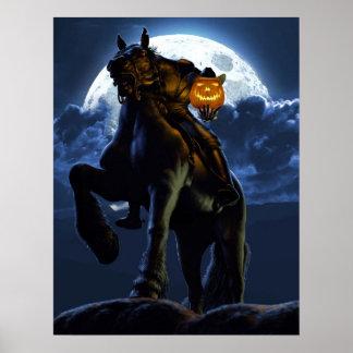 ハロウィン-頭のない騎手ポスター ポスター