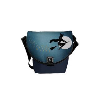 ハロウィン-魔法使い メッセンジャーバッグ