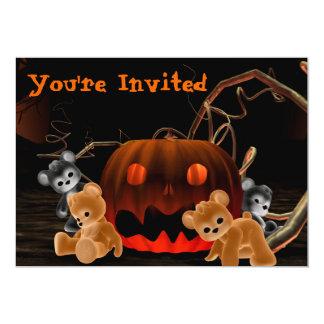 ハロウィンBearz #1の招待状 カード