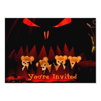 ハロウィンBearz #3の招待状 カード