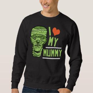 ハロウィンI愛私のミイラのスエットシャツ スウェットシャツ