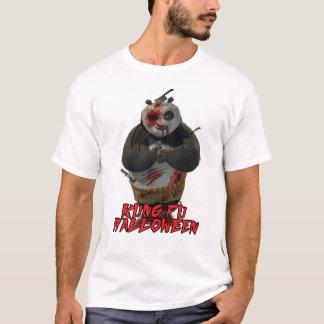 ハロウィンKung FuのTシャツ Tシャツ