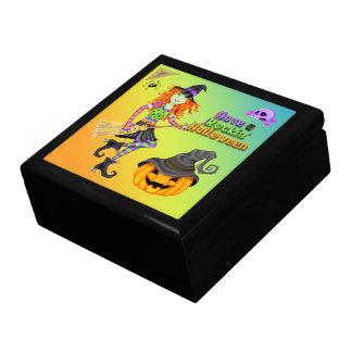 ハロウィンRockinの魔法使いのギフト用の箱か装身具箱 ギフトボックス