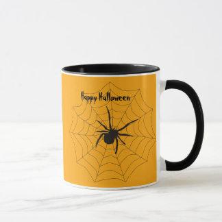 ハロウィンSpiderwebのマグ マグカップ