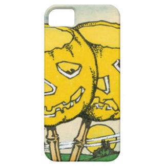 ハロウィーンのカボチャのちょうちんのカボチャ満月 iPhone SE/5/5s ケース
