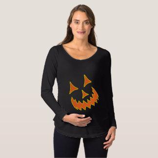 ハロウィーンのカボチャのちょうちんのマタニティシャツ マタニティTシャツ