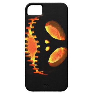 ハロウィーンのカボチャのちょうちんのiPhone 5の場合 iPhone SE/5/5s ケース
