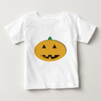 ハロウィーンのカボチャのちょうちんTodlerのTシャツ ベビーTシャツ