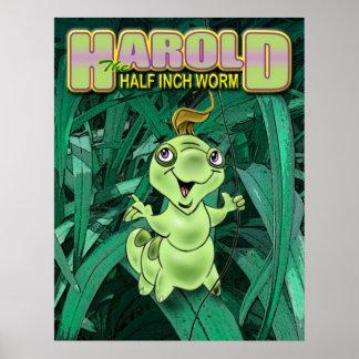 ハロルド最終的なカバー芸術 ポスター