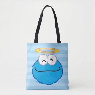 ハローのクッキーの微笑の顔 トートバッグ