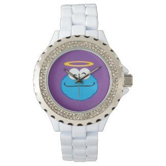 ハローのクッキーの微笑の顔 腕時計