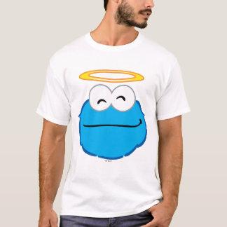 ハローのクッキーの微笑の顔 Tシャツ
