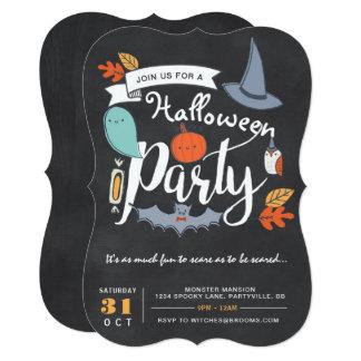 ハローウィンパーティの招待状 カード