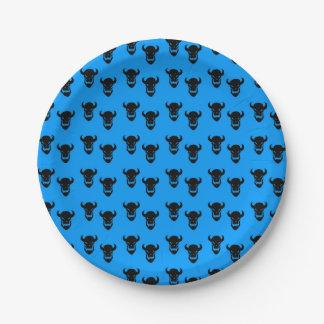 ハローウィンパーティの紙皿パターン ペーパープレート