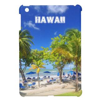 ハワイからのエキゾチックな眺め iPad MINIカバー