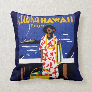 ハワイからの1920年アロハ クッション