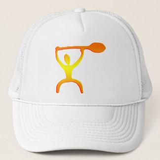 ハワイのかい人の岩石彫刻-帽子 キャップ