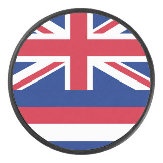 ハワイのアイスホッケー用パックの旗 アイスホッケーパック