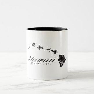 ハワイのアロハ島 ツートーンマグカップ