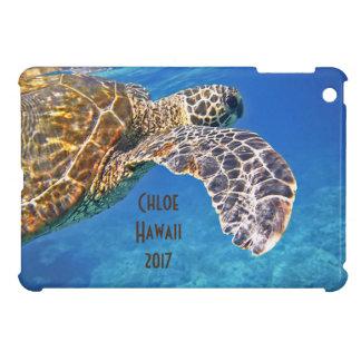 ハワイのウミガメの水泳 iPad MINI CASE