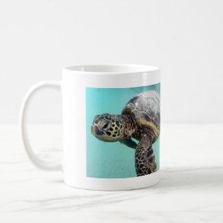 ハワイのウミガメ コーヒーマグカップ