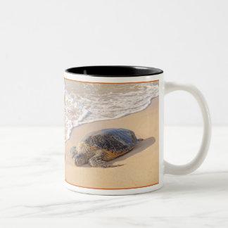 ハワイのウミガメ ツートーンマグカップ