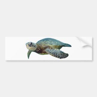 ハワイのウミガメ バンパーステッカー