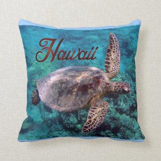 ハワイのカメの枕 クッション
