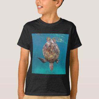 ハワイのカメの貝 Tシャツ