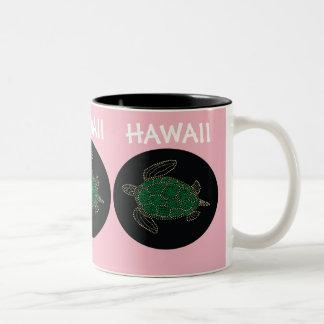 ハワイのカメ ツートーンマグカップ