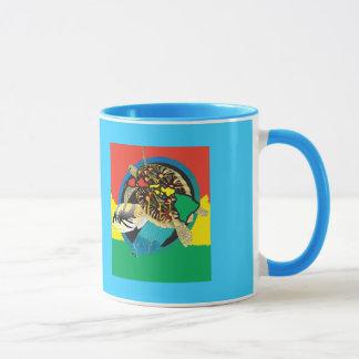 ハワイのカメ マグカップ