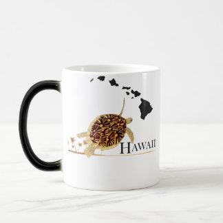 ハワイのカメ マジックマグカップ