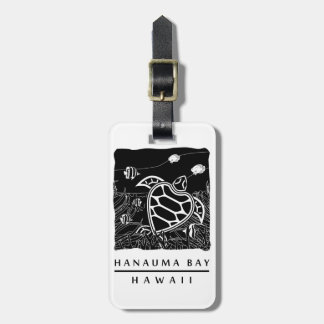 ハワイのカメ ラゲッジタグ