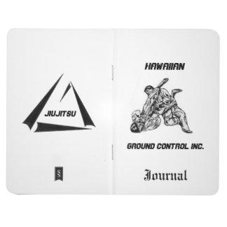 ハワイのグラウンド・コントロール株式会社のロゴのジャーナル ポケットジャーナル