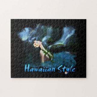 ハワイのスタイルのパズル ジグソーパズル