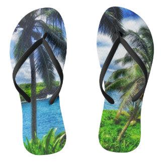 ハワイのスタイルのフリップフロップ ビーチサンダル