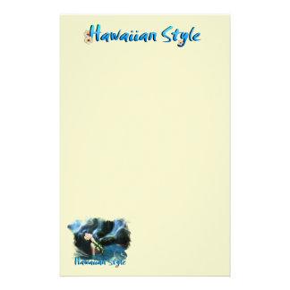 ハワイのスタイルの文房具 便箋