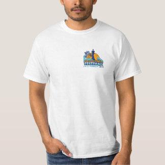 ハワイのチェスのフェスティバルの白のTシャツ Tシャツ