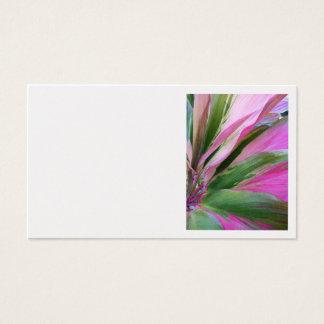 ハワイのチタニウムの植物 名刺