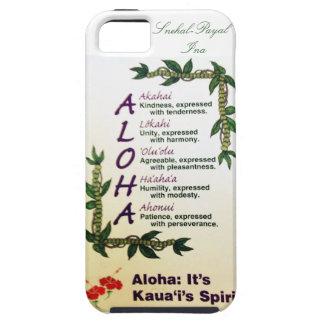 ハワイのデザイン iPhone SE/5/5s ケース