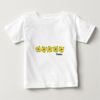 ハワイのハイビスカスによってはオアフハワイが開花します ベビーTシャツ