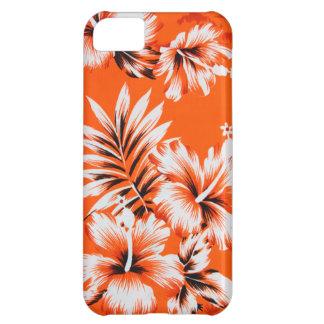 ハワイのハイビスカスの花の背景 iPhone5Cケース